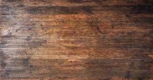 Fond en bois antique de texture Images stock