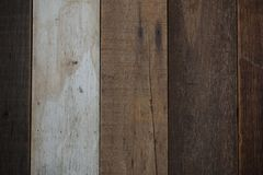 Fond en bois antique naturel de texture de conseil photos stock