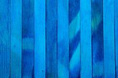 Fond en bois approximatif vertical de texture de cloison de séparation de bleu d'indigo faites écrire un certain espace pour des  photos stock