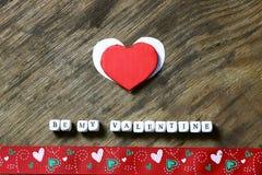 Fond en bois avec la forme de coeur Image libre de droits