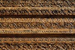Fond en bois avec le découpage Image stock