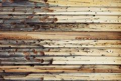Fond en bois beige clair de vintage Vieux conseils Fond en bois Images stock