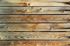 Fond en bois beige Vieux fond en bois coloré Photo libre de droits