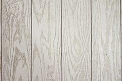 Fond en bois blanc Images libres de droits