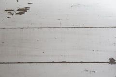 Fond en bois blanc Images stock