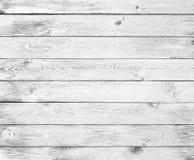 Fond en bois blanc de cru Photos libres de droits