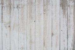 Fond en bois blanc de mur Image stock