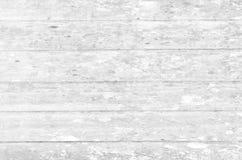 Fond en bois blanc de mur Photos stock