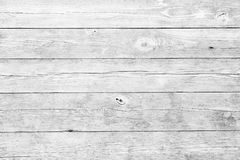 Fond en bois blanc de planches Images stock