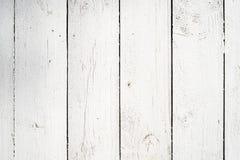 Fond en bois blanc de planches photo libre de droits