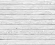 Fond en bois blanc de planches Photos libres de droits