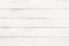 Fond en bois blanc de texture Photographie stock