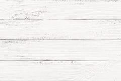 Fond en bois blanc de texture Images libres de droits