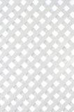 Fond en bois blanc de trellis Photographie stock libre de droits