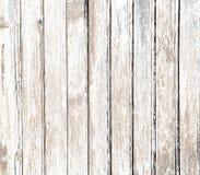 Fond en bois blanc de vintage vieux Images libres de droits