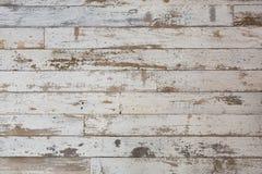 Fond en bois blanc/gris de texture avec les modèles naturels Étage photos libres de droits