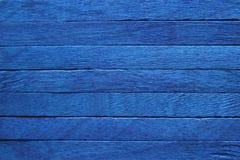 Fond en bois bleu Image libre de droits