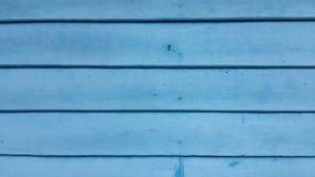 Fond en bois bleu abstrait Images libres de droits