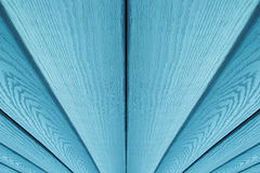 Fond en bois bleu Conseils diagonaux Images libres de droits