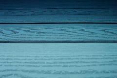 Fond en bois bleu Conseils horizontaux Image libre de droits