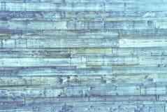 Fond en bois bleu de planches Texture en bois bleue Photographie stock libre de droits