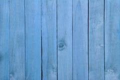 Fond en bois bleu de textrue Photos stock