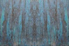 Fond en bois bleu de textrue Images stock
