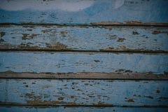 Fond en bois bleu de texture venant de l'arbre naturel Panneau en bois avec de beaux mod?les L'espace pour le travail photos stock