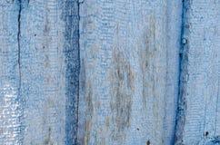 Fond en bois bleu de texture photos stock