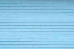 Fond en bois bleu de vintage Photographie stock libre de droits