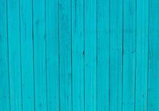 Fond en bois bleu profond coloré lumineux Photos libres de droits