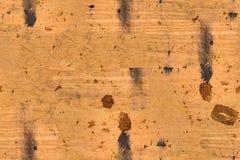 Fond en bois brûlé sale brun sans couture Image libre de droits