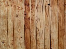 Fond en bois brun clair de mur de texture de planche Image libre de droits