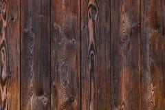 Fond en bois, bureau rayé brun de bois de construction, vieille table ou plancher Images stock