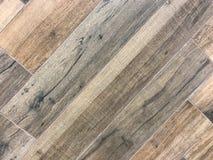 Fond en bois carrelé de texture de plancher photo libre de droits