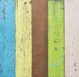 Fond en bois coloré Image stock