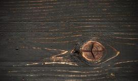 Fond en bois coloré par obscurité de pin Images libres de droits