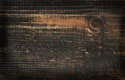 Fond en bois coloré par obscurité de pin Photographie stock