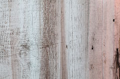 Fond en bois coloré peint de murs Images stock