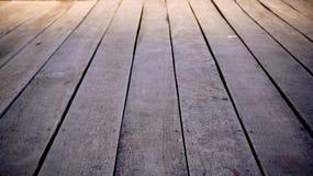 Fond en bois d'étage Images libres de droits