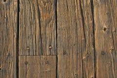 Fond en bois d'étage Images stock