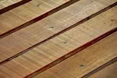 Fond en bois d'étage Photographie stock libre de droits