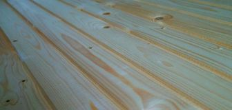 Fond en bois d'acacia Images libres de droits