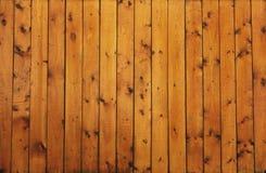 Fond en bois d'or brun de texture de cru Photographie stock libre de droits