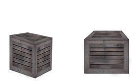 Fond en bois de blanc de cadre photos stock