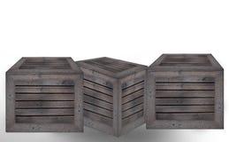 Fond en bois de blanc de cadre photographie stock libre de droits