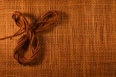 Fond en bois de Brown Photo stock