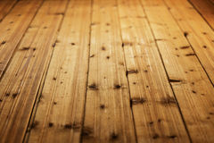 Fond en bois de Brown Photos libres de droits
