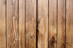 Fond en bois de Brown rétro Images libres de droits