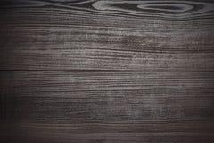 Fond en bois de brun foncé Photo libre de droits